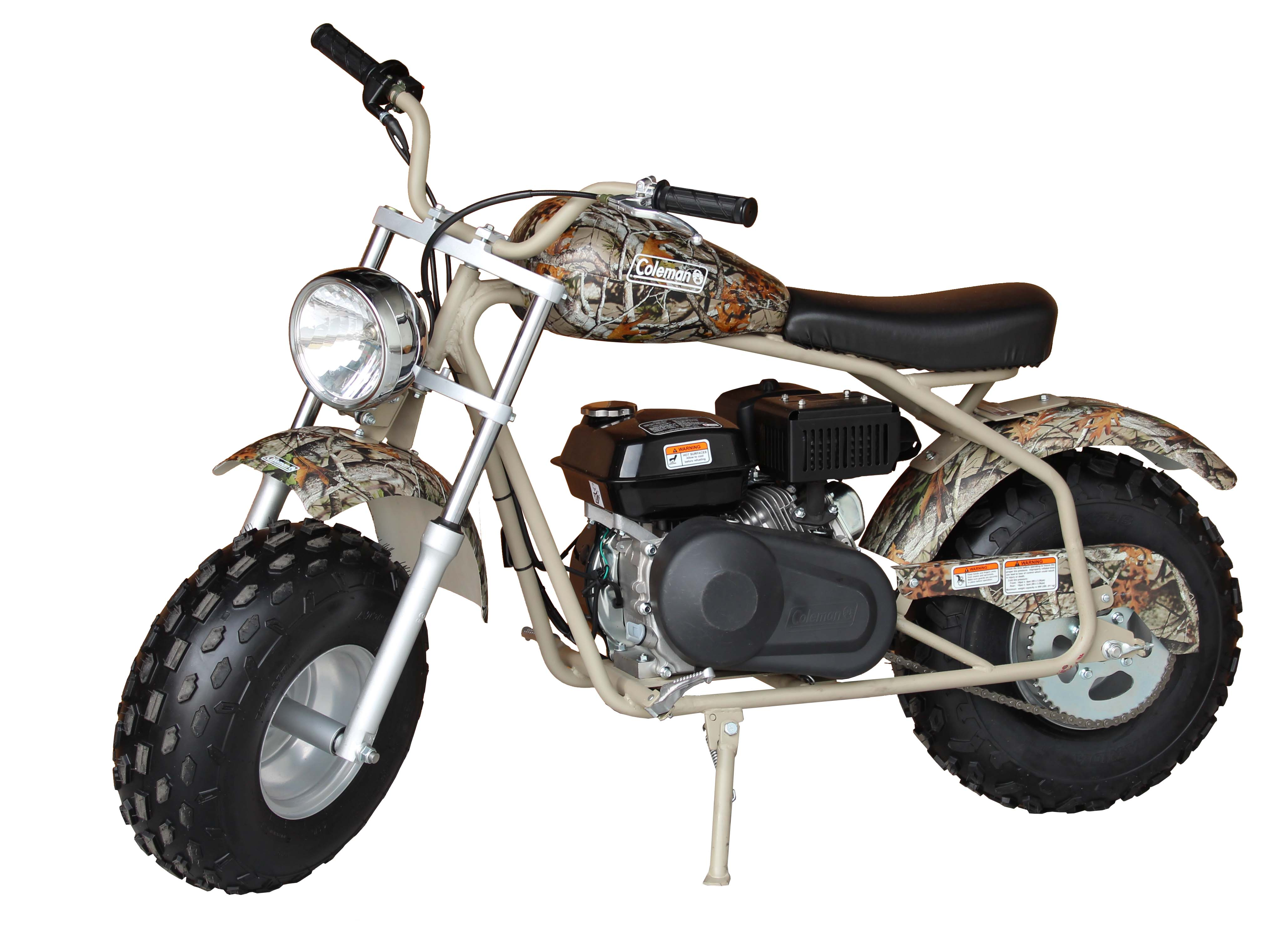 Coleman Powersports 200cc Gas-Powered Ride-On