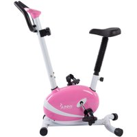 Sunny Health & Fitness P8200 Pink Magnetic Upright Exercise Bike