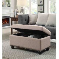 Convenience Concepts Designs4Comfort 7th Avenue Storage Ottoman