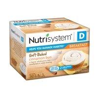 Nutrisystem D Cinnamon Buns, 1.8 Oz, 4 Ct