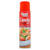 (2 Pack) Great Value Canola Oil Cooking Spray, 8 oz