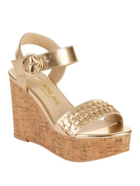 Melrose Ave Women's Without a Doubt Vegan Platform Wedge