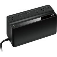 APC UPS Battery Backup & Surge Protector, 450VA, APC Back-UPS (BN450M)