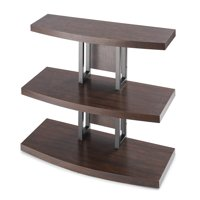 Better Homes and Gardens Walker TV Stand, Rustic Espresso