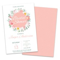 Product Image Personalized Spring Florals Bridal Shower Invitations