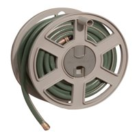 Suncast 100 ft. Sidewinder® Resin Hose Reel, Dark Taupe, SWA100