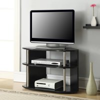 """Designs2Go Swivel Black TV Stand for TVs up to 32"""""""