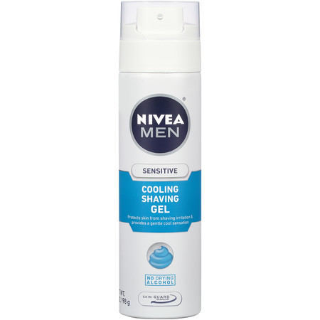 NIVEA Men Sensitive Cooling Shaving Gel 7 oz.