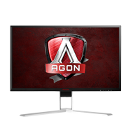"AOC Monitor 24"" AGON GAMING Freesync 1ms 144Hz QUAD 2560x1440 Res VGA DVI-D HDMI (MHL) HDMI 2.0 DisplayPort Built-in 3Wx2 Speakers USB 3.0 x4 AG241QX"