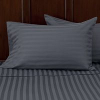 Better Homes and Gardens 300 Thread Count Wrinkle Free Damask Stripe Pillowcase Collection