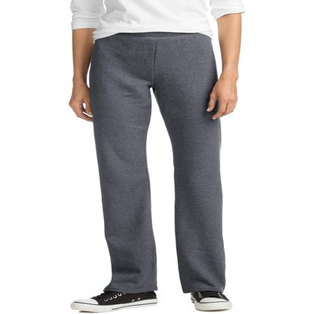 Hanes Women's Essential Fleece Sweatpant available in Regular and (Track Pants With Buttons On The Side)