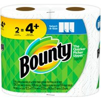 Bounty Paper Towels, Select-A-Size, 2 Bulk Rolls