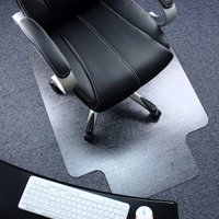 """Ktaxon 36"""" X 48"""" PVC Chair Mat Protector Floor Carpet Home Office Rolling Chair Studded with Lip"""