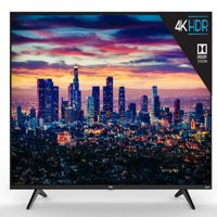 "TCL 55"" Class 4K Ultra HD (2160p) Dolby Vision HDR Roku Smart LED TV (55S517)"