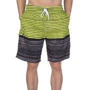 2b336485fb LELINTA Mens Swim Trunks Board Shorts Bathing Suits Elastic Waist Drawstring