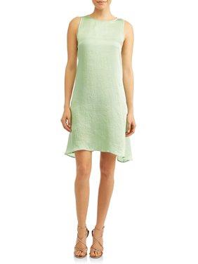 Women's Sleeveless Shift Dress