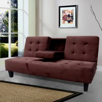 Milton Green Madrid Futon Sofa Bed with Cup Holder