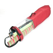"""Santa'S Bags Wrapping Paper Clear 40"""" Tall X 9"""" Dia Tube"""
