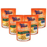 (5 Pack) UNCLE BEN'S Ready Rice: Long Grain & Wild, 8.8oz