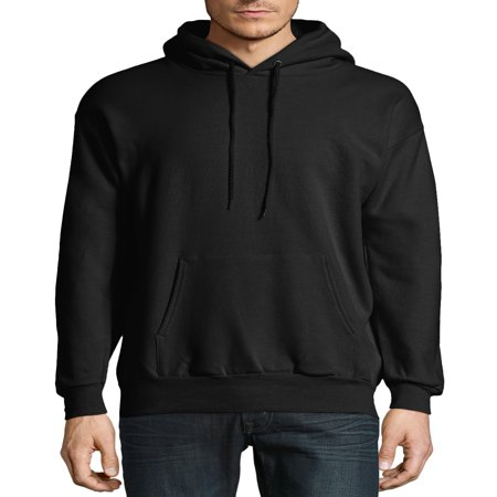 Hanes Big & Tall Men's EcoSmart Fleece Pullover Hoodie with Front Pocket (Fleece Oklahoma Pullover)