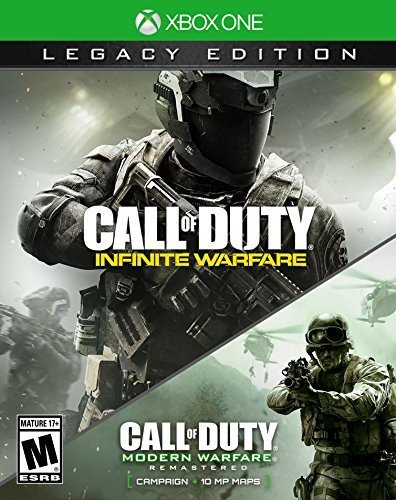 Call of Duty: Infinite Warfare Legacy Edition, Activision, Xbox One, (Call Of Duty Modern Warfare Pegi Rating)