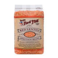 Bobs Red Mill Red Lentils Beans, 27 Oz