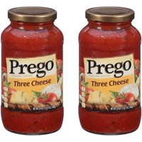 (2 Pack) Prego Three Cheese Italian Sauce, 24 oz.