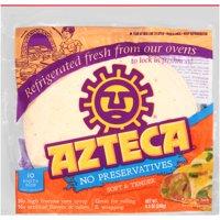 Azteca Flour Soft Taco Size Tortillas, 8.5 Oz., 10 Count
