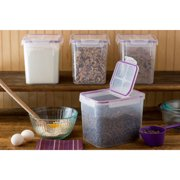 Snapware Airtight Plastic 17-Cup Fliptop Food Storage Container, Set of 4