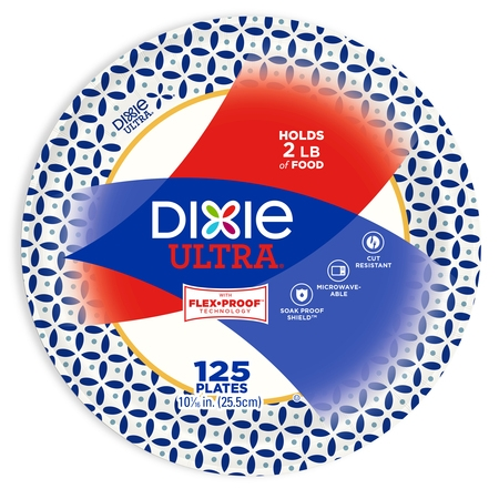 Dixie Ultra Paper Dinner Plates, 10