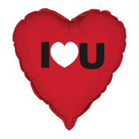 "18"" Foil I Heart You Valentine Balloon"