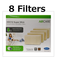 Aircare Replacement Wicking Humidifier Filter, Pack of 8 HDC12