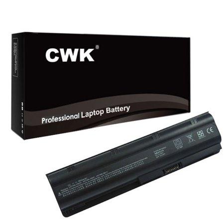 CWK™ 12 Cell 8800mAh High-Capacity Battery for HP Pavilion G6-1C59NR, G6-1C60CA, G6-1C61CA, G6-1C61NR G6-1V71 MUO6 MUO9 with 593550-001 636631-001 notebook HP 2000-2C60CA 2000-2c61NR 2000-2c62NR