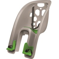 Bell Sports Shell Rear Child Carrier Bicycle Seat, Graphite