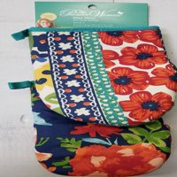 The Pioneer Woman Pinch Oven Mitts, Set of 2