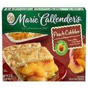 Marie Callender's Frozen Cobbler Dessert, Peach, 32 Ounce