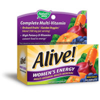 (2 pack) Nature's Way Alive! Women's Energy Multivitamin Supplement Tablets, 50 Count