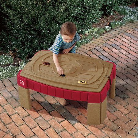 Step2 Naturally Playful Sand Table Includes Cover, 2 Shovels, Rakes And Bucket