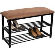 997ac374df Sorbus Shoe Rack Bench Shoe Organizer Perfect Bench Seat Storage for  Hallway Entryway, Mudroom,