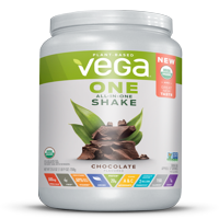 Vega One Organic All in One Shake, Chocolate 25.0 oz, 17 servings