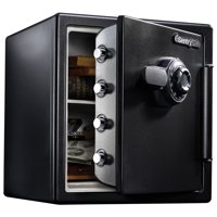 SentrySafe SFW123CS Fire-Resistant Safe and Waterproof Safe with Dial Combination 1.23 cu ft