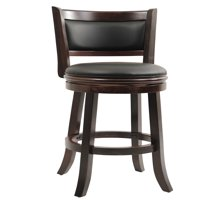 "Boraam Augusta 29"" Swivel Bar Stool, Multiple Finishes"