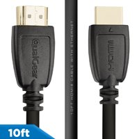 QualGear 10' High-Speed HDMI 2.0 Cable with Ethernet