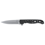 CRKT M16 - 01S EDC Folding Knife with Spear Point Blade with Bead Blast Finish and Black EDP Coating Stainless Steel Handle with Frame Lock