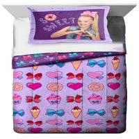 Nickelodeon JoJo Siwa Sweet Life Twin/Full Comforter and Sham Set