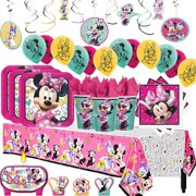 Minnie Mouse Mega Birthday Party Pack For 16 Guests