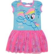 8e05227068e My Little Pony Toddler Girls  Tulle Dress Rainbow Dash