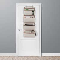 Over the Door Organizer-4 Pocket Hanging Storage Saves Space for Closet, Bedroom, Office-Store Books, Toys, Craft Supplies and More by Lavish Home