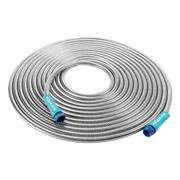 Sun Joe AJSGH50 Stainless Steel Metal Hose | 50-Foot · Spiral Constructed