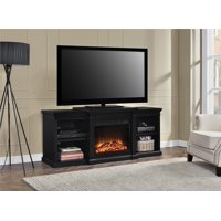 "Ameriwood Home Manchester Electric Fireplace TV Stand for TVs up to 70"" Multiple Colors"